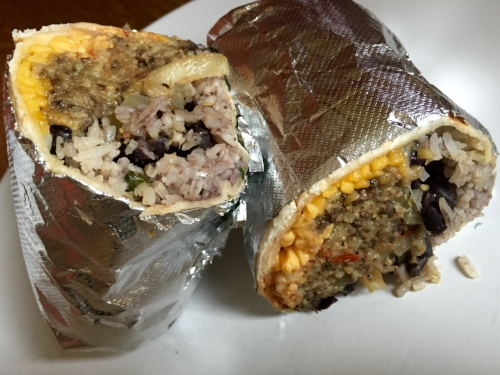 Photo Credit:  Anna Bryant   Are you weirded out by eating sheep's liver? Ease in with a burrito. Already comfortable eating organs? Eat the burrito anyway.