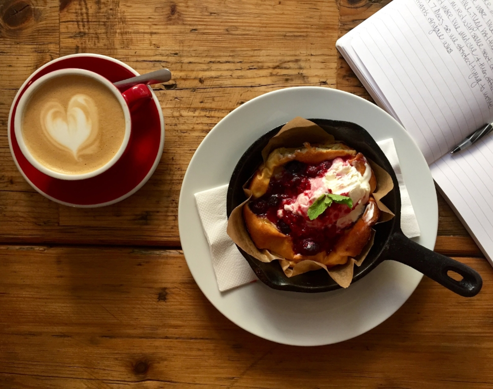 Photo Credit:  Anna Bryant   Baked Pancake from Silo Coffee in Berlin