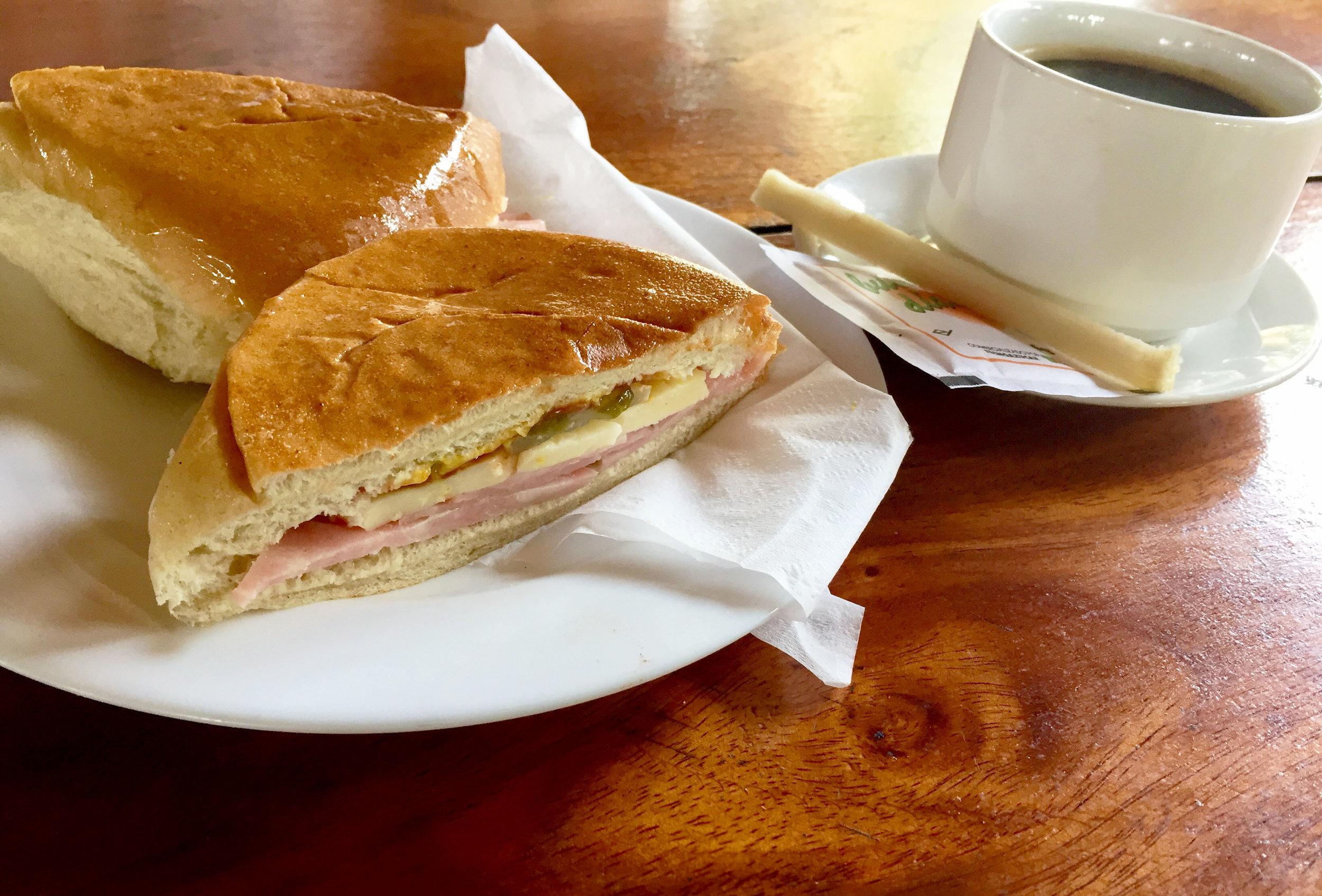 Photo Credit:  Anna Bryant   Cubano, Coffee, and cane sugar