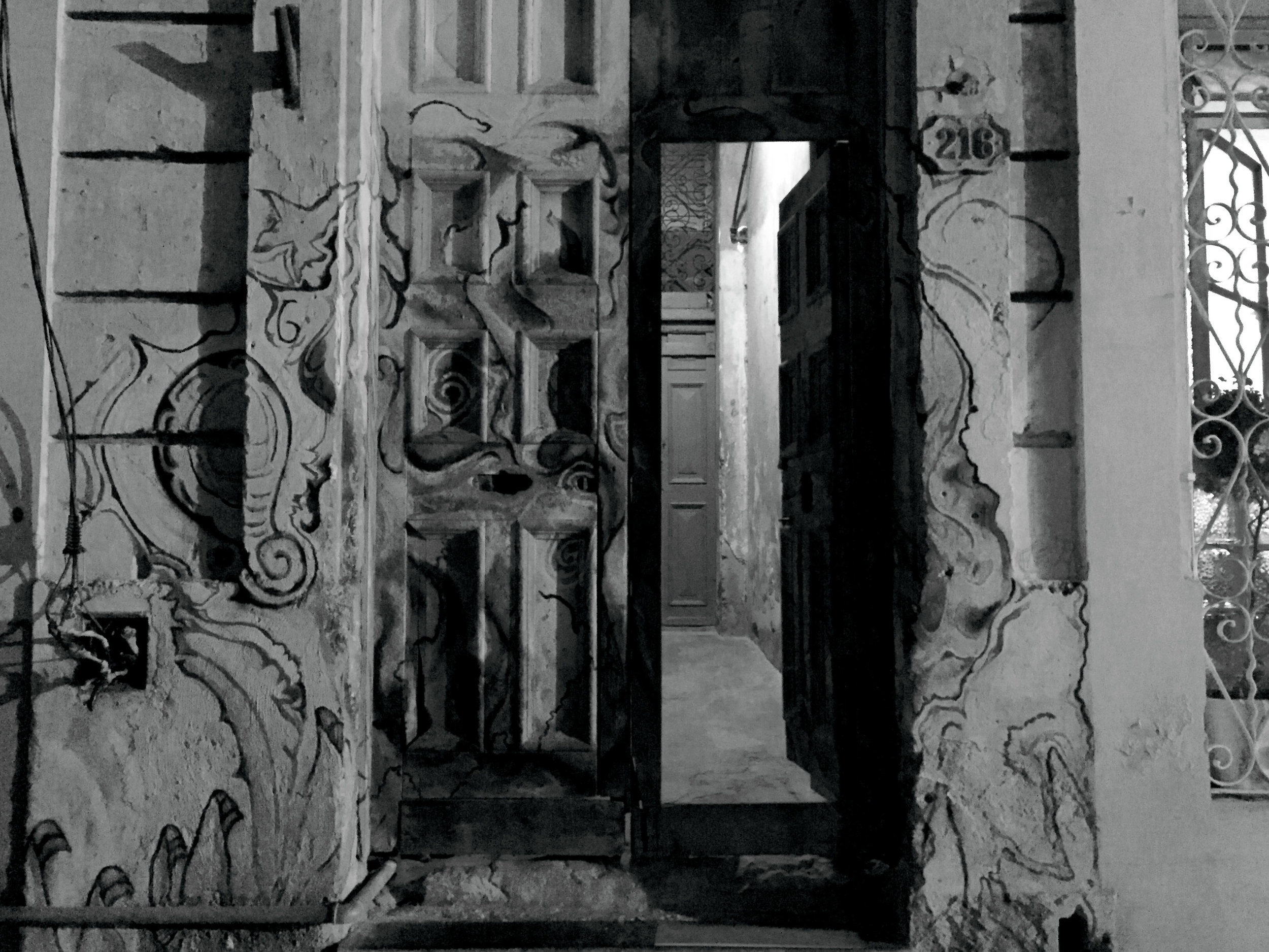 Photo Credit:  Anna Bryant   so many doorways are open and covered in art