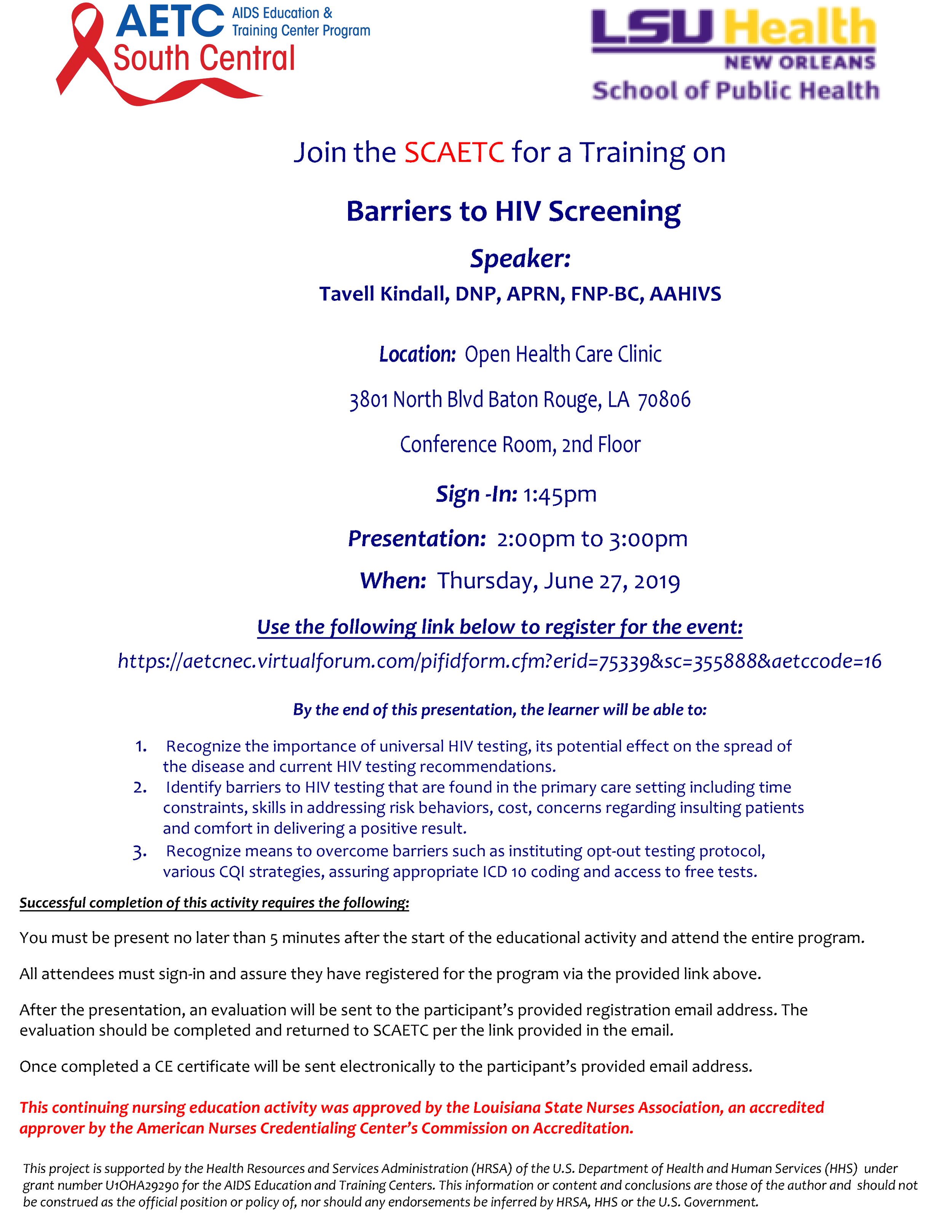 Barries to HIV Screening - Flyer.png