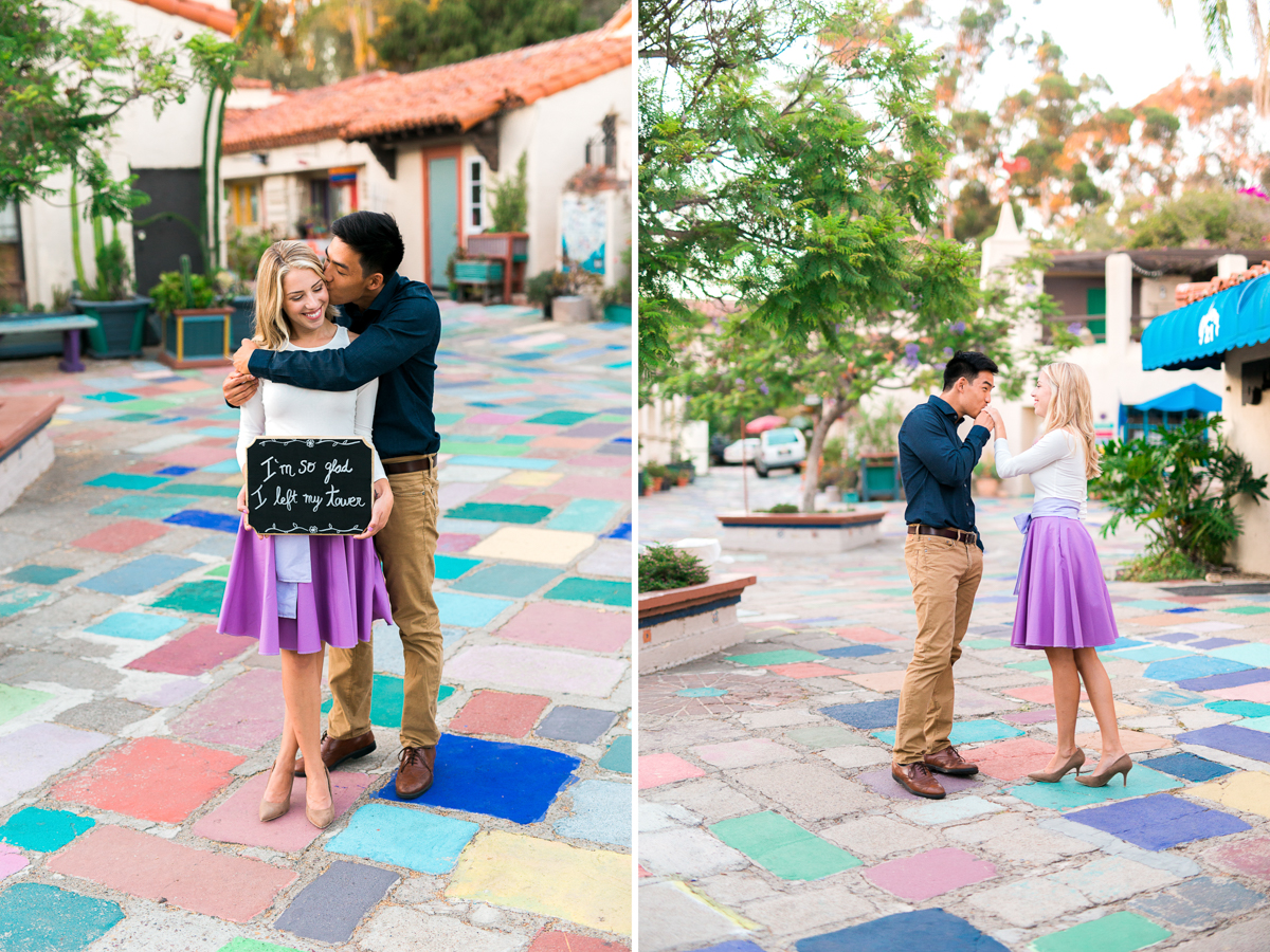 San Diego Wedding Photographer Engagement Balboa Park Tangled Inspired 5-2.jpg