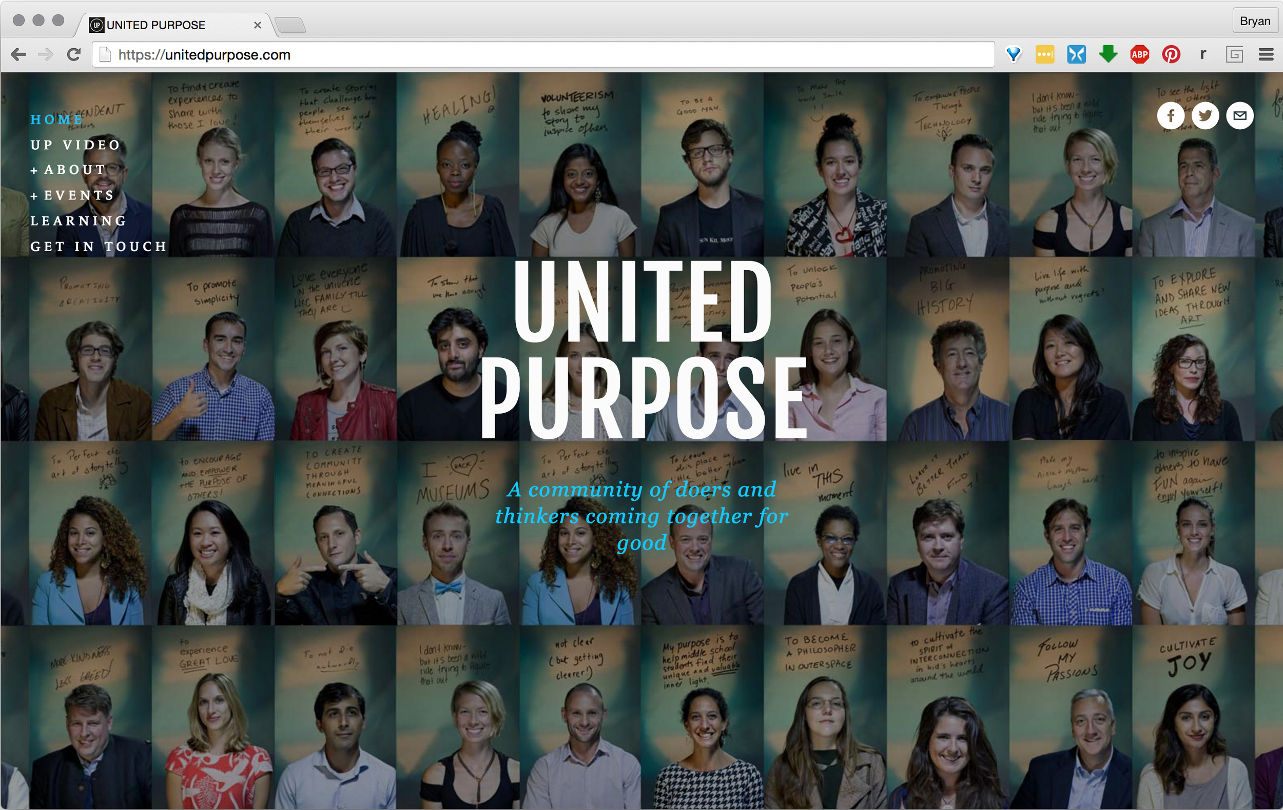 UNITED PURPOSE: A Community of Creative Problem Solvers Working Together For Good  View Project