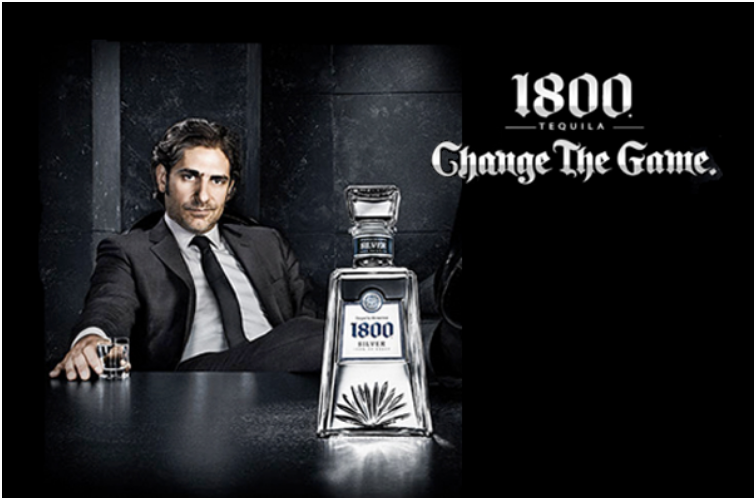 1800 Tequila: Change The Game.