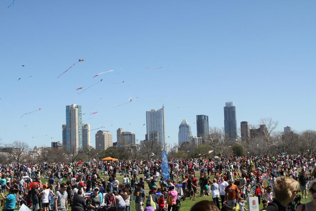 Here in March? Check out the Kite Festival!