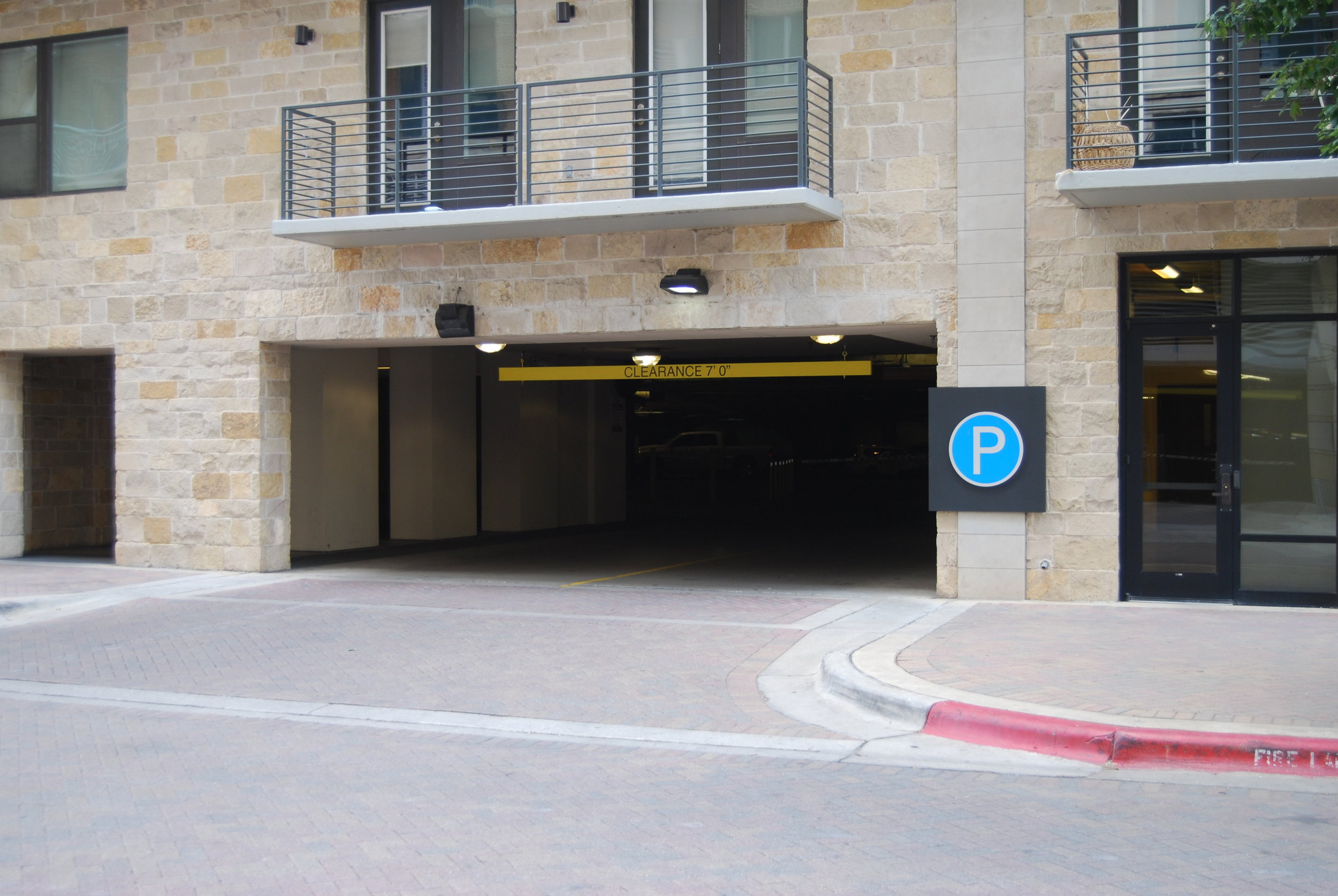 Park Plaza Garage Entrance.JPG