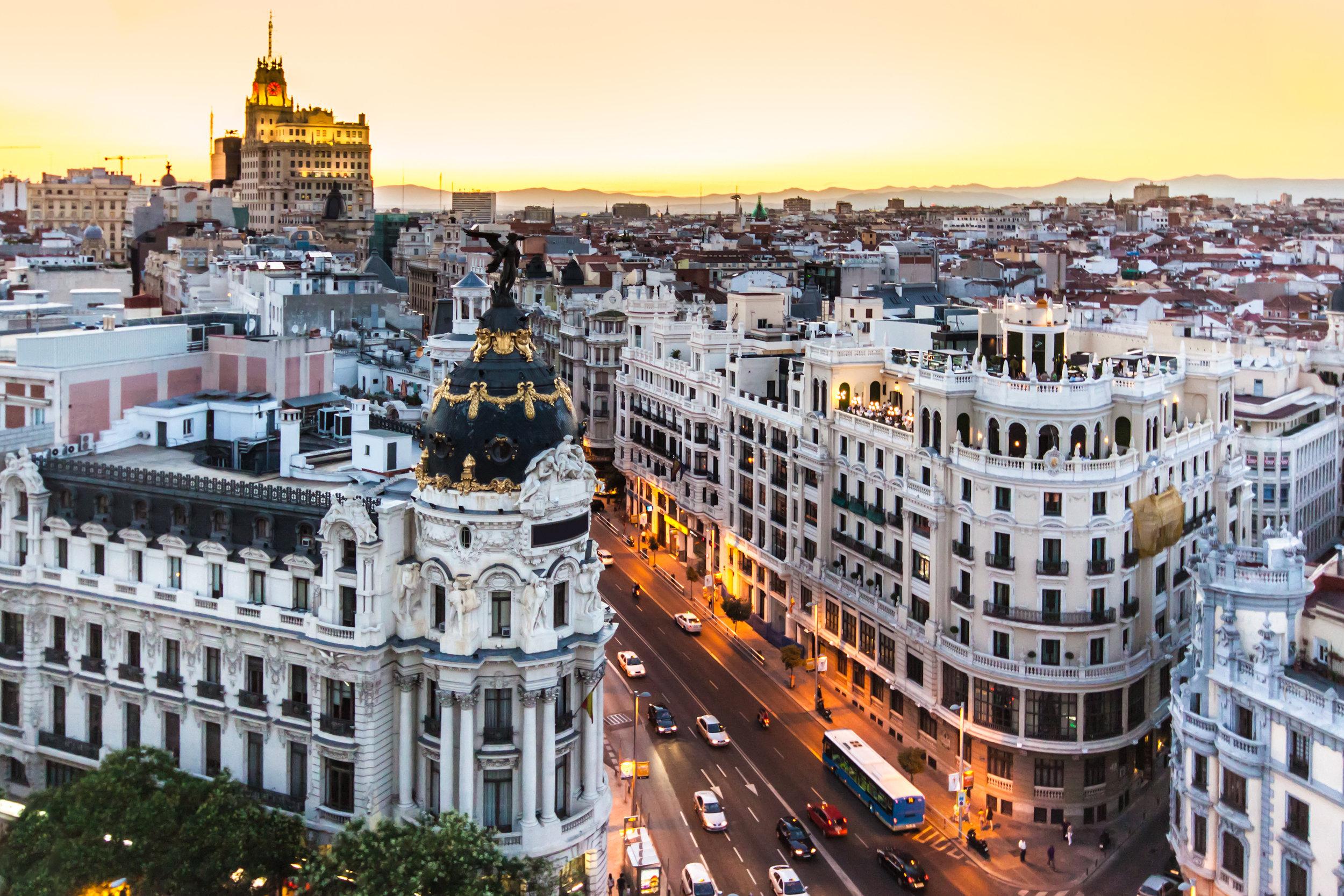Madrid, Spain (Adobe Stock Photo)