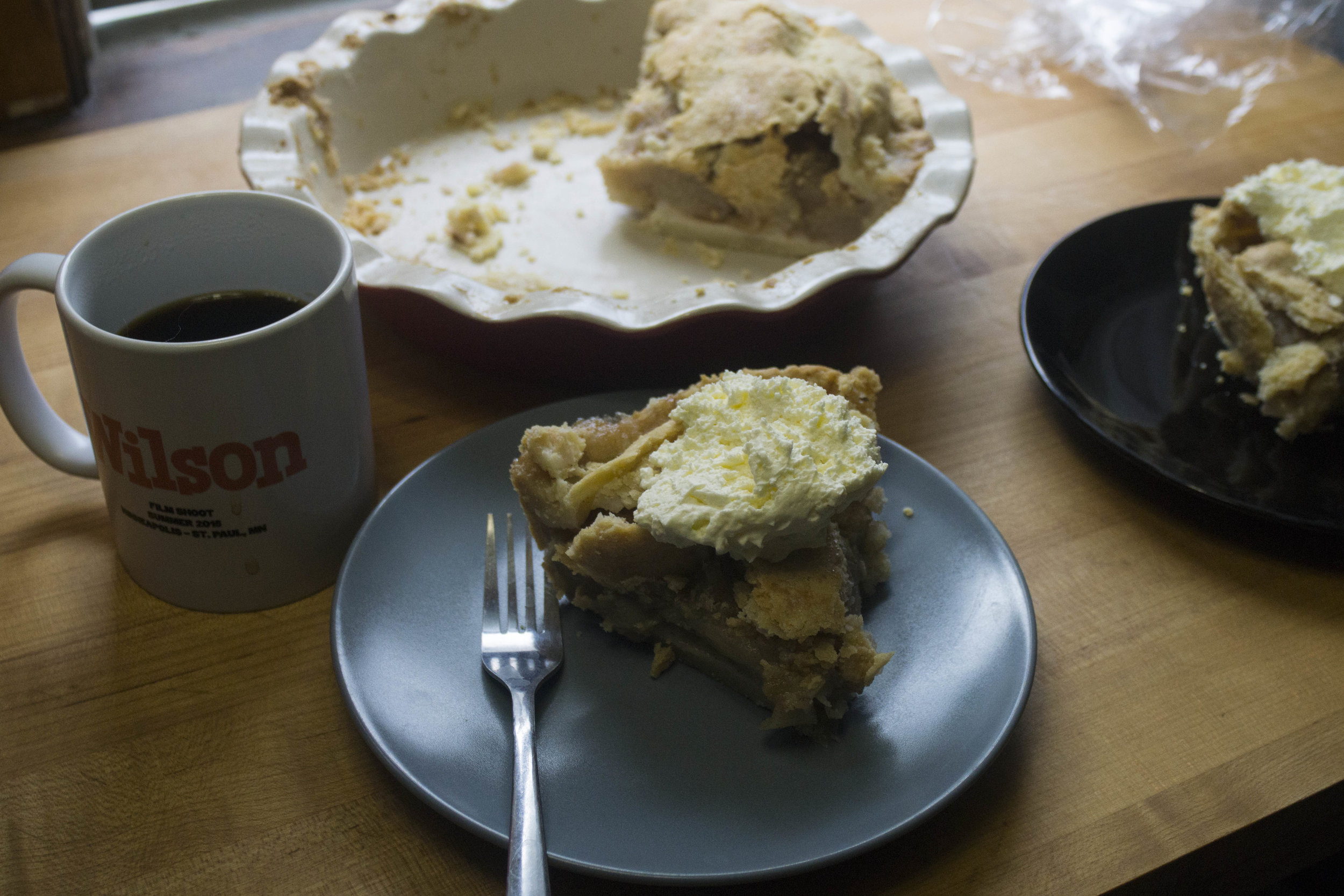 Apple pie = best lunch ever.