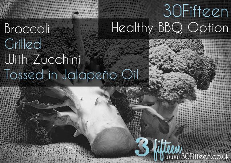 Broccoli BBQ recipe 30Fifteen