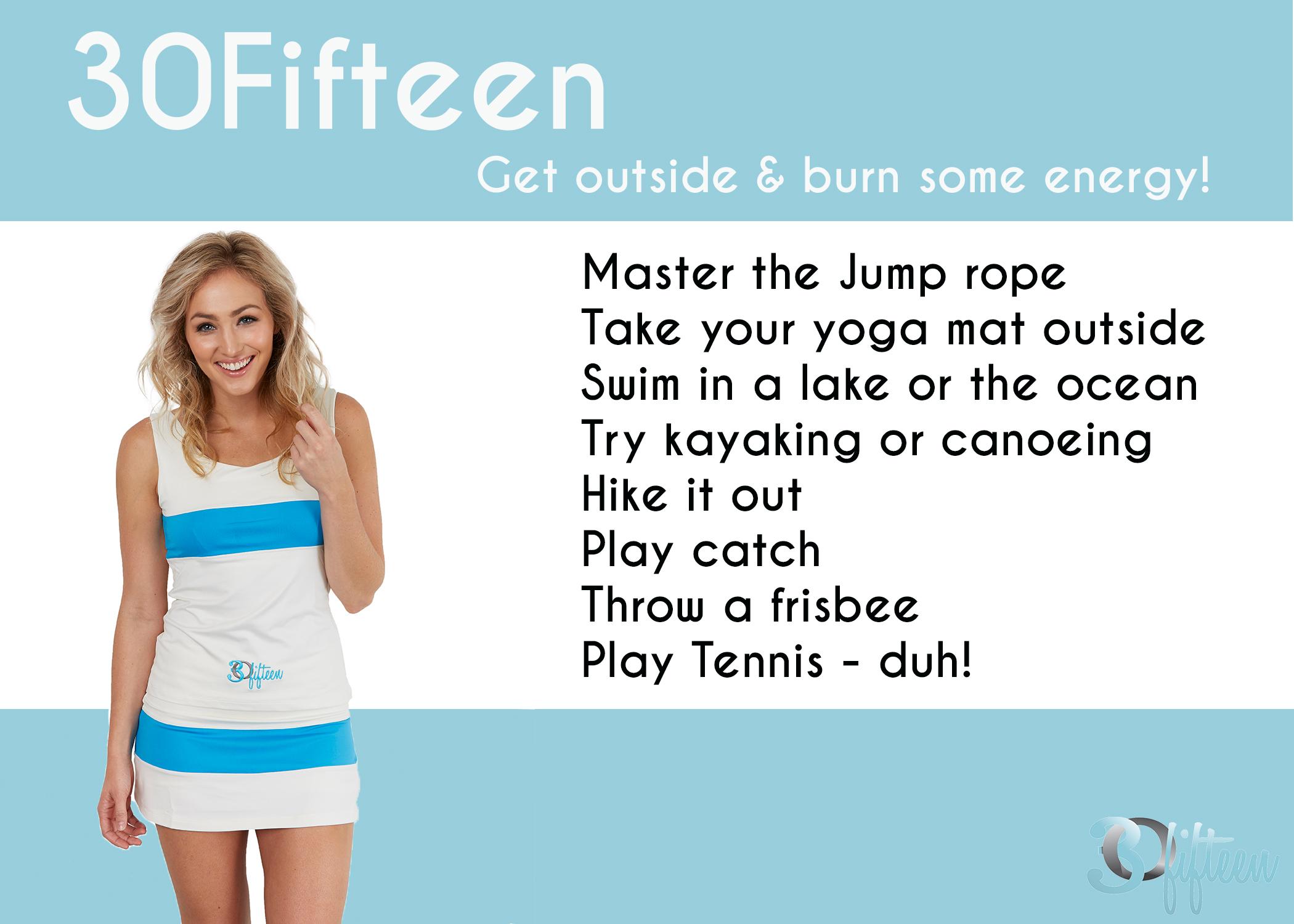 Summer activities 30Fifteen