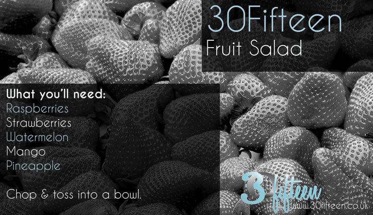 30Fifteen fruit salad recipe