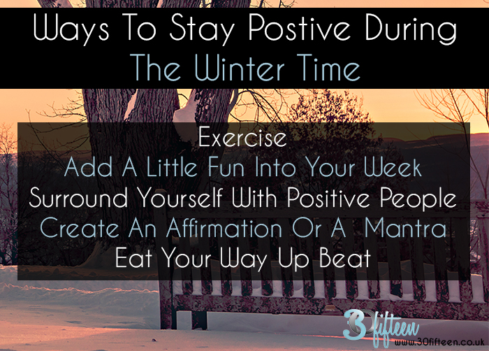 Stay Positive This Winter