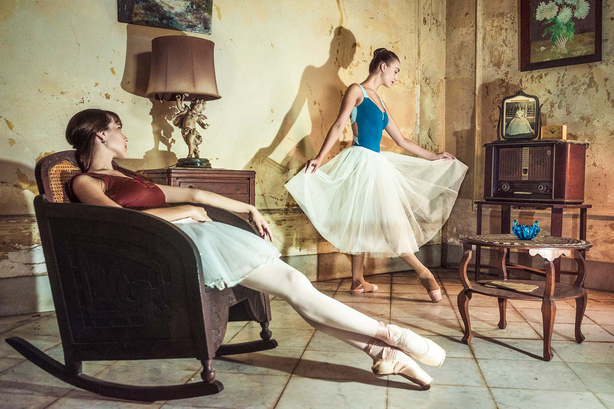 Ballerinas Interior Scene