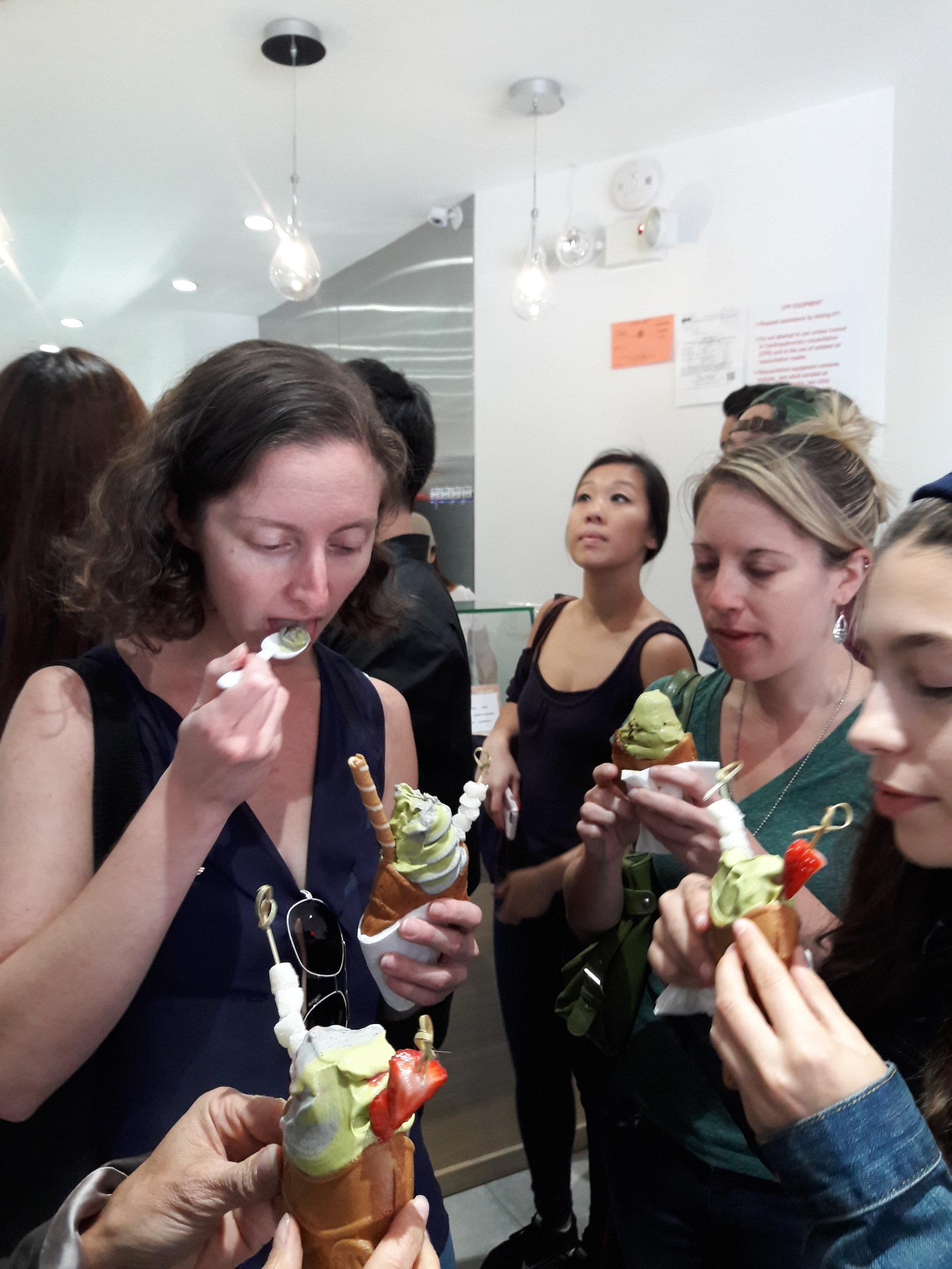 Group love for Taiyaki