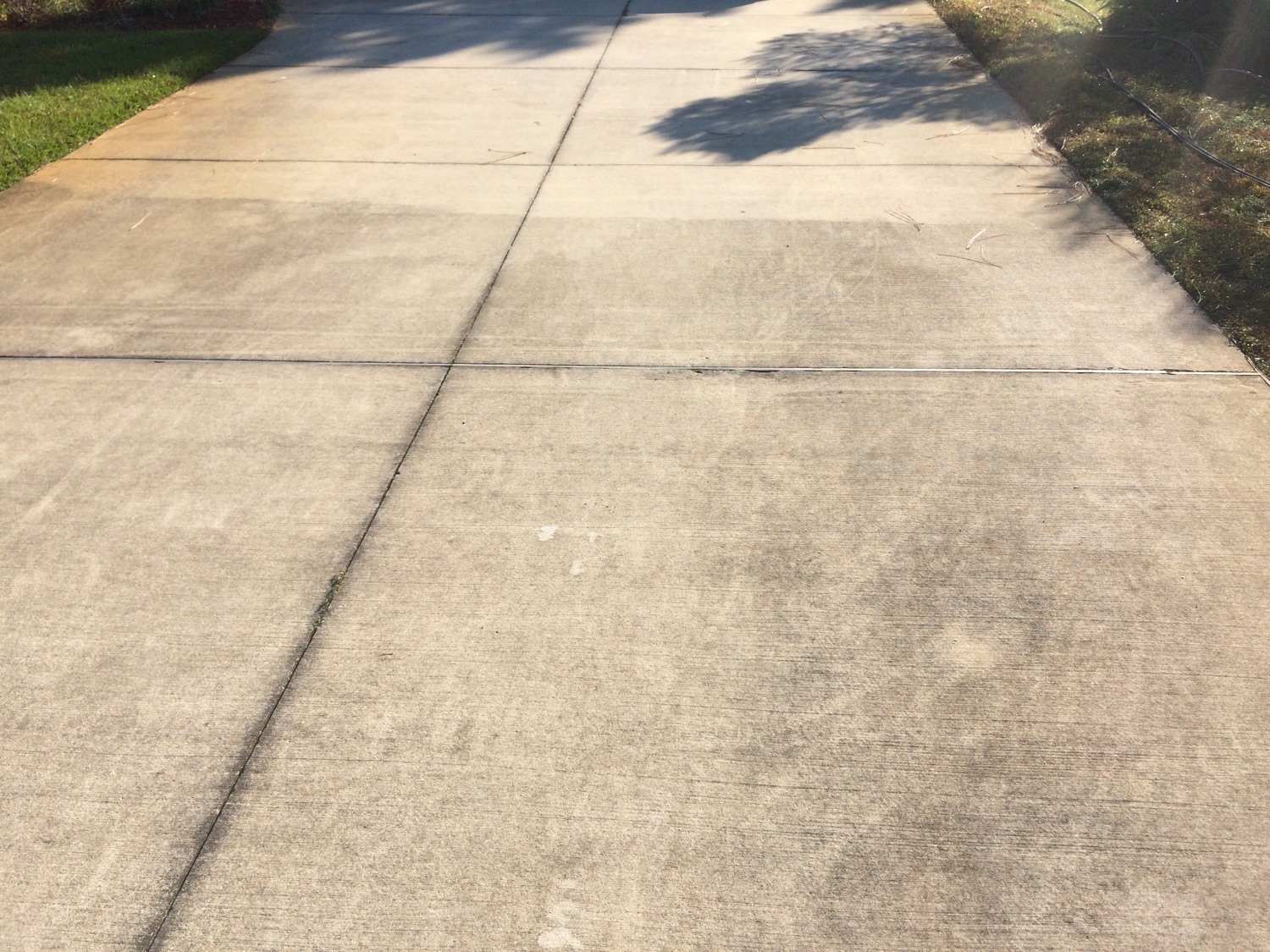 Driveway Cleaning by the owner