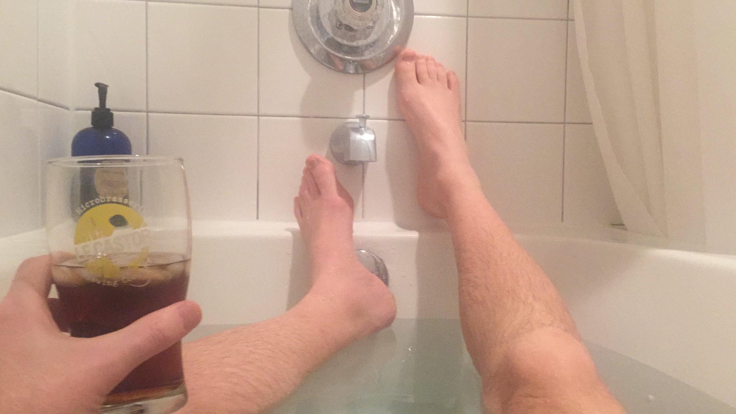 Bathtime Rum n' Coke
