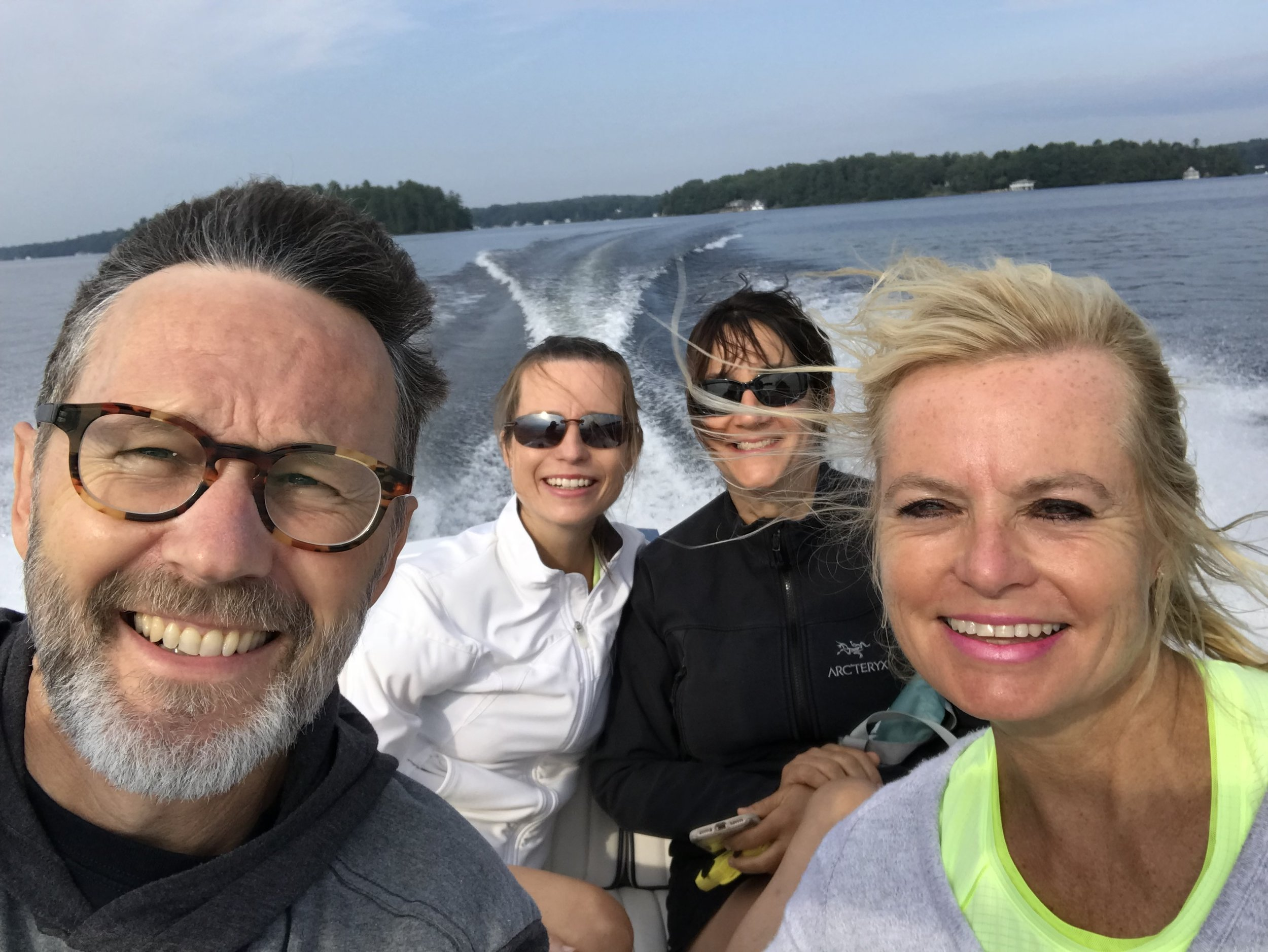 The Annual Jim as Donzi Boat Chauffeur to Rosseau Market.