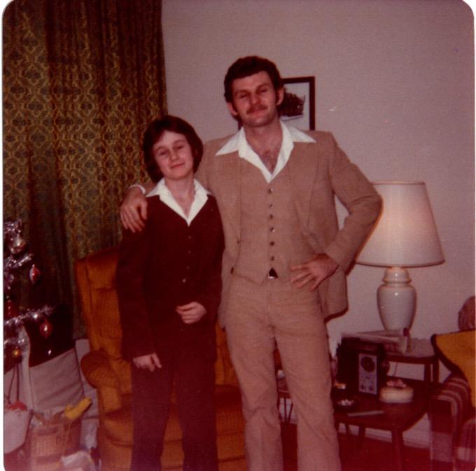 Jim and Hal circa early 70's.