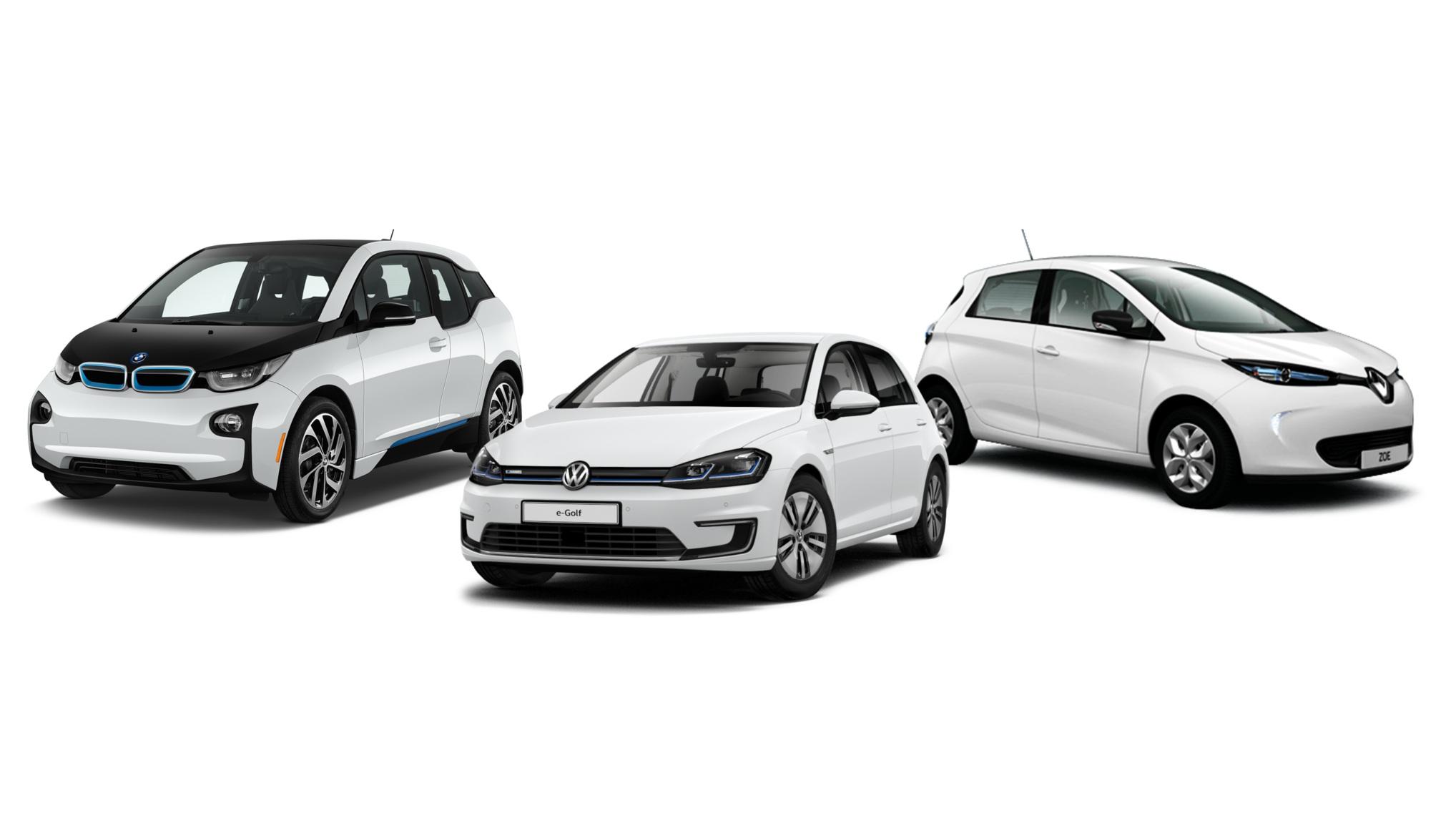 Ida, Nick och Sofie - VÄSTMANNAGATAN 67, VASASTANElbilio erbjuder användare att hyra en BMW i3, Renault Zoe, VW eGolf
