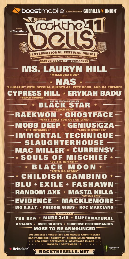 Rock The Bells 2011