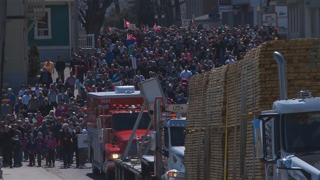 Last summer, over 4,000 people marched through the streets of the small northern Quebec town of Saint-Félicien, demanding an end to misleading activist campaigns.