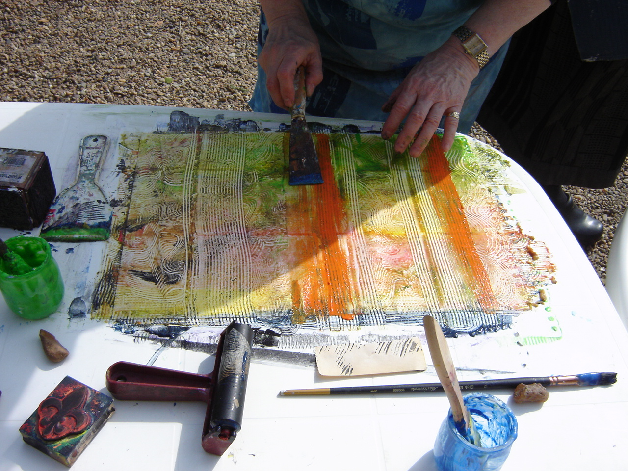 Sheila paste painting.JPG