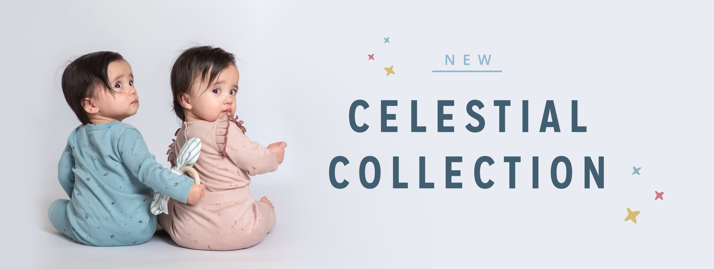 New Celestial Collection Header Image