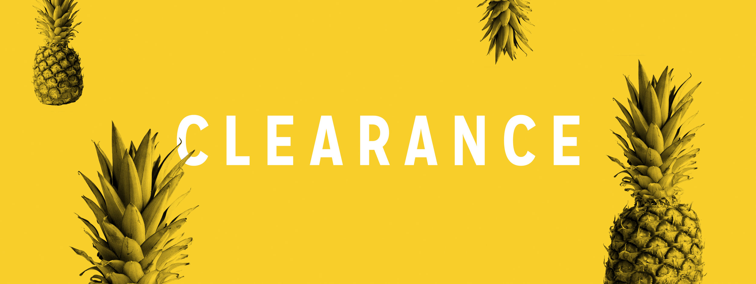 Clearance Page Header Image
