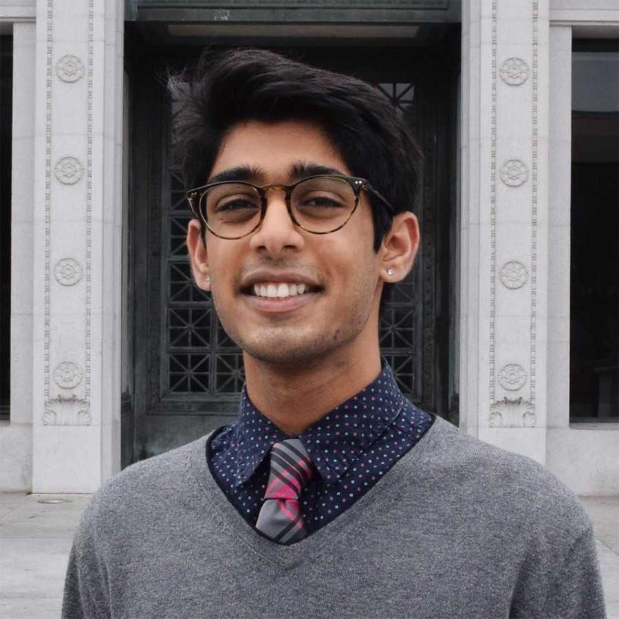 Roshan Lodha  Undergraduate Volunteer Roshan.Lodha@ucsf.edu