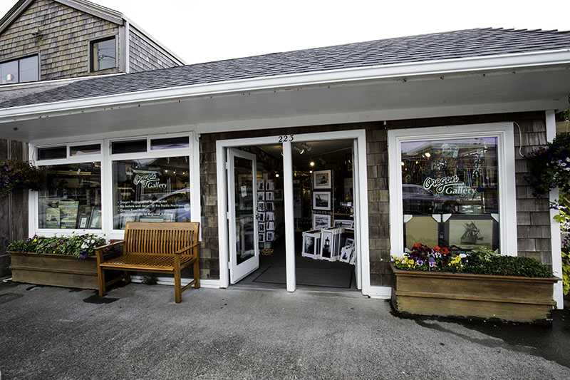 This is the store front of our Cannon Beach store open since 1987.
