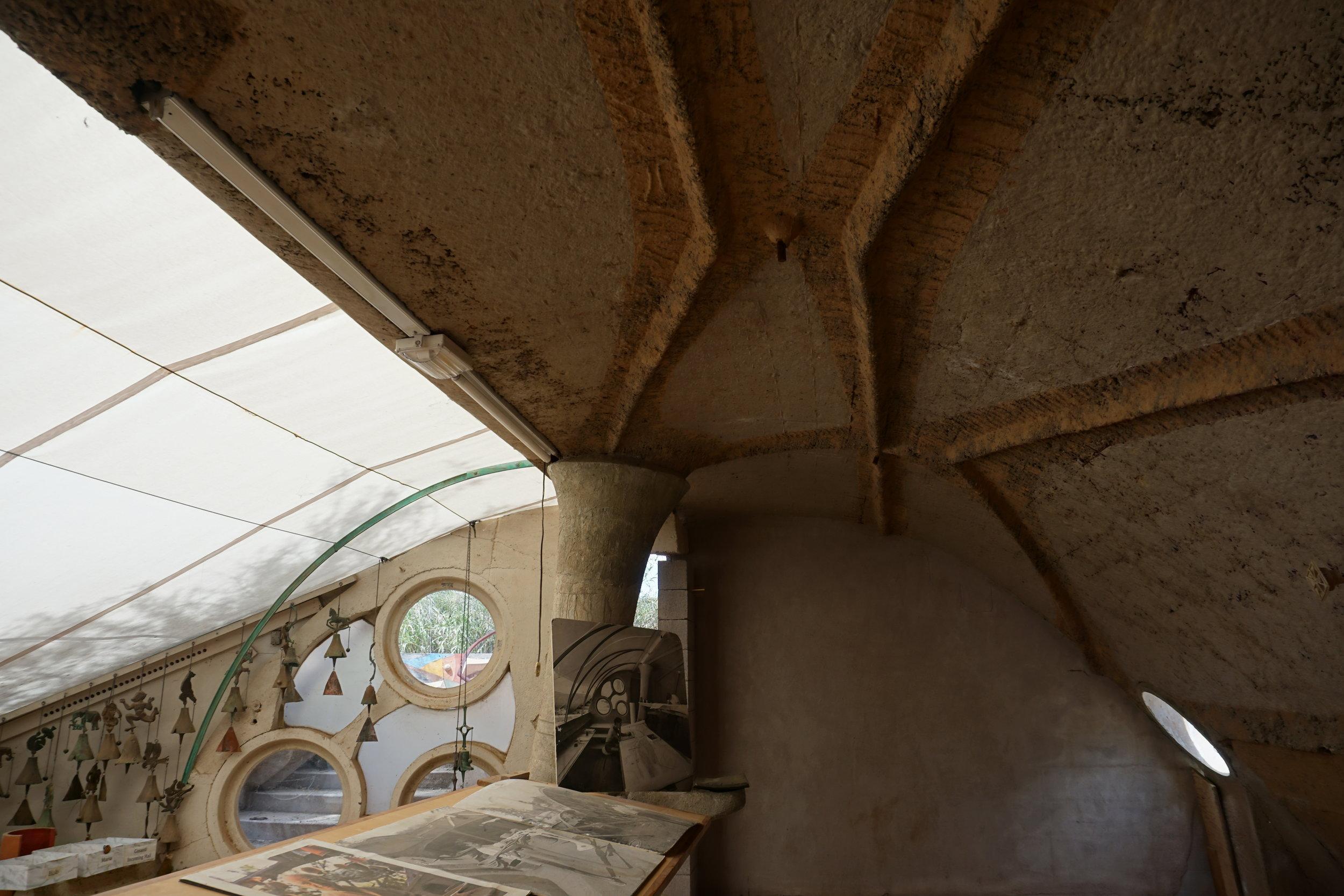 Soleri's studio