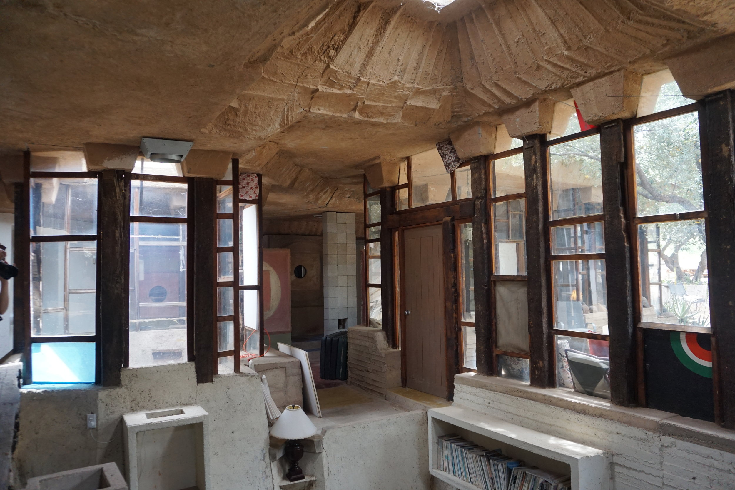 Artists do apprenticeships here and live on-site