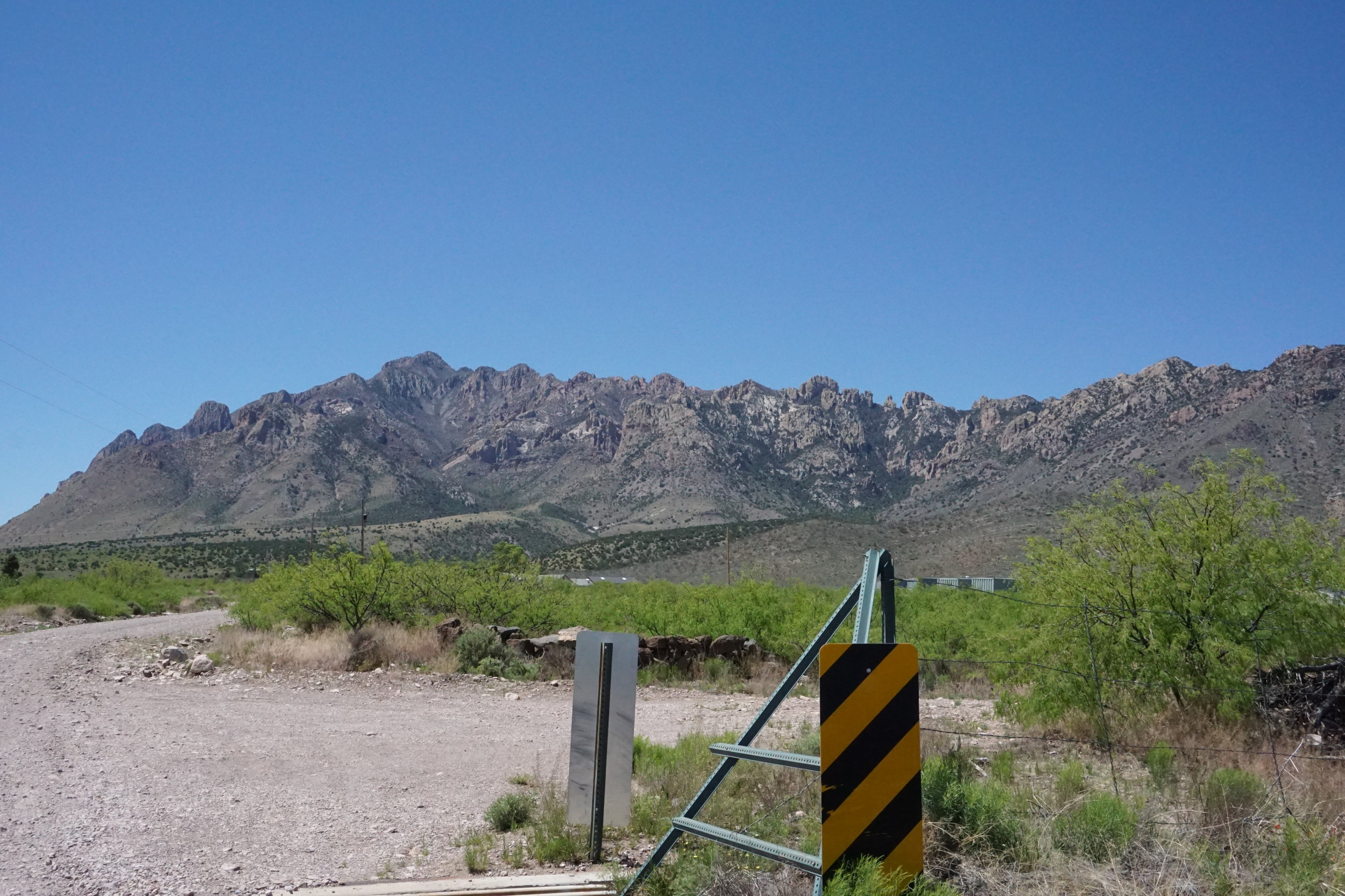 """Southern Bradshaw Mountains, location of Crown King at slevation near 5900"""""""