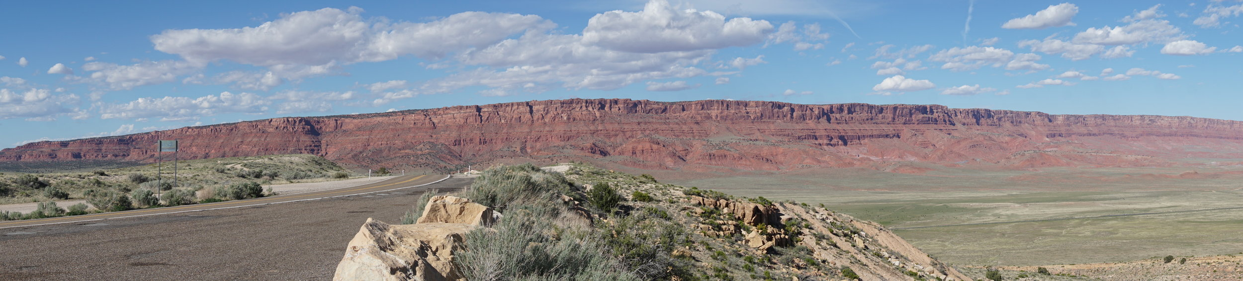 Pano of the southern end of the Escalante, Bryce and Glen Canyon plateaus