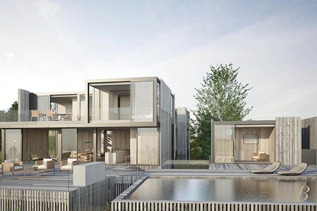#139SeascapeLaneSagaponack is a modern marvel by the award-winning @BatesMasi Architects, ready for move-in by Spring/Summer 2018! ⠀⠀ ⠀⠀⠀ The distinctive design aesthetic was intentionally meant to seamlessly meld timeless architecture with the ethereal natural environs. These effects harmoniously collide throughout the home as well, with glass enclosed⠀⠀⠀ bridges connecting the towers and an effortless flow between indoor outdoor spaces.⠀⠀⠀ ⠀⠀⠀ Listed be Bespoke's Corporate Listing Team led by @Bespoke.Zachary and @Bespoke.Cody | $18.495M⠀