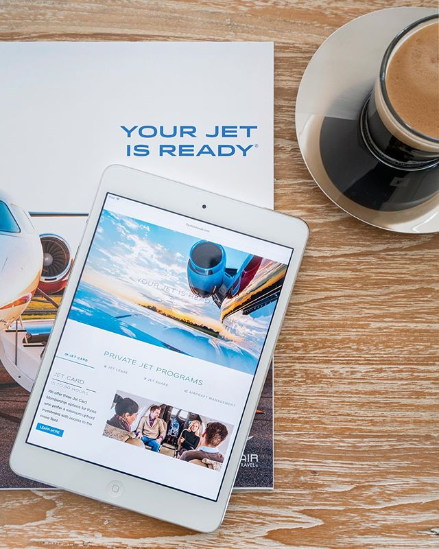 Headed to the Hamptons this weekend? Your jet is ready. Bespoke crafted a variety of creative marketing solutions, including branding, design, collateral, advertising and digital for our client @Nicholas_Air