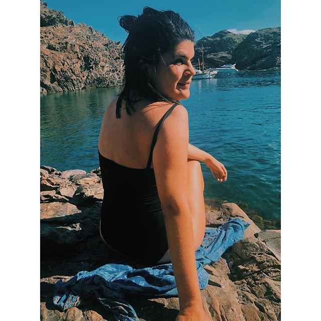 • Llegue al paraíso • . Gracias a vos @marinabissone ❤️ . Chau chau hermosa #CostaBrava