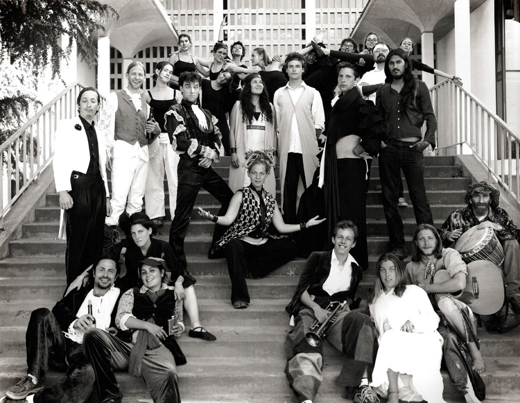 """The cast of """"Twelfth Night, or What You Will"""" - 2003"""