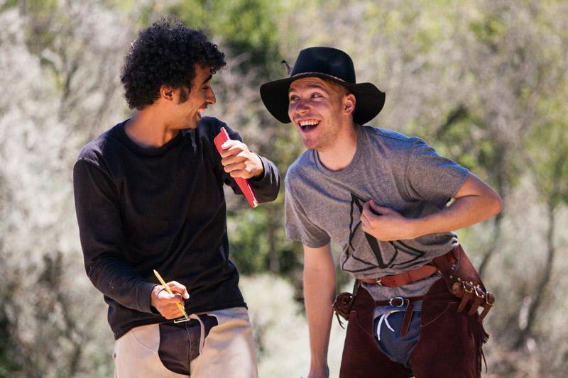 Montague buddies share a laugh
