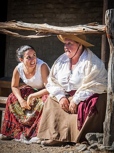 Romeo & Juliet at Petaluma Adobe