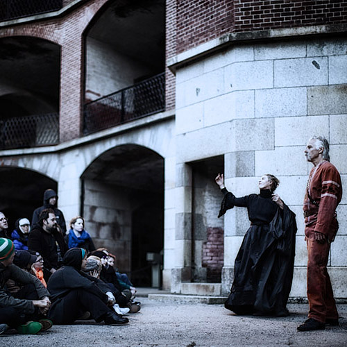 Macbeth at Fort Point , 2014 & 2013