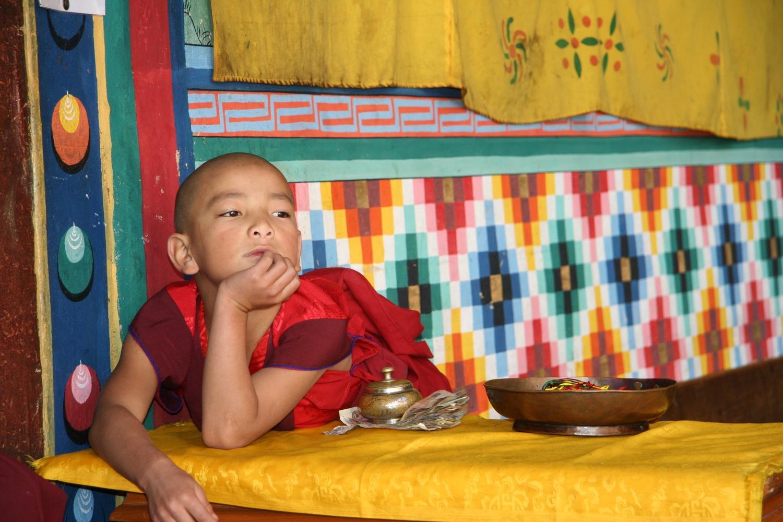 Young Monk, Bhutan, 2008