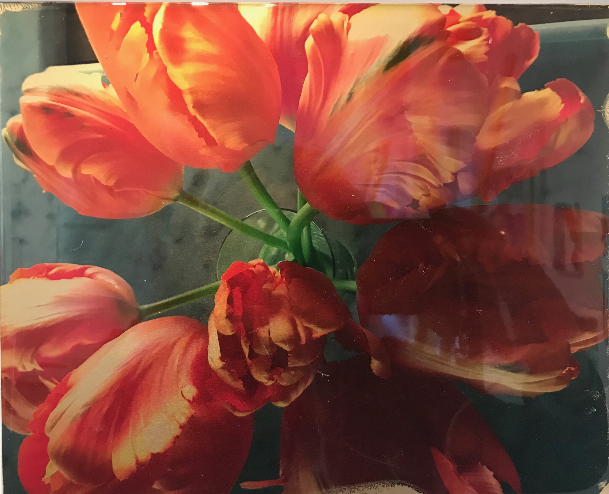 Tulips to Love in Resin