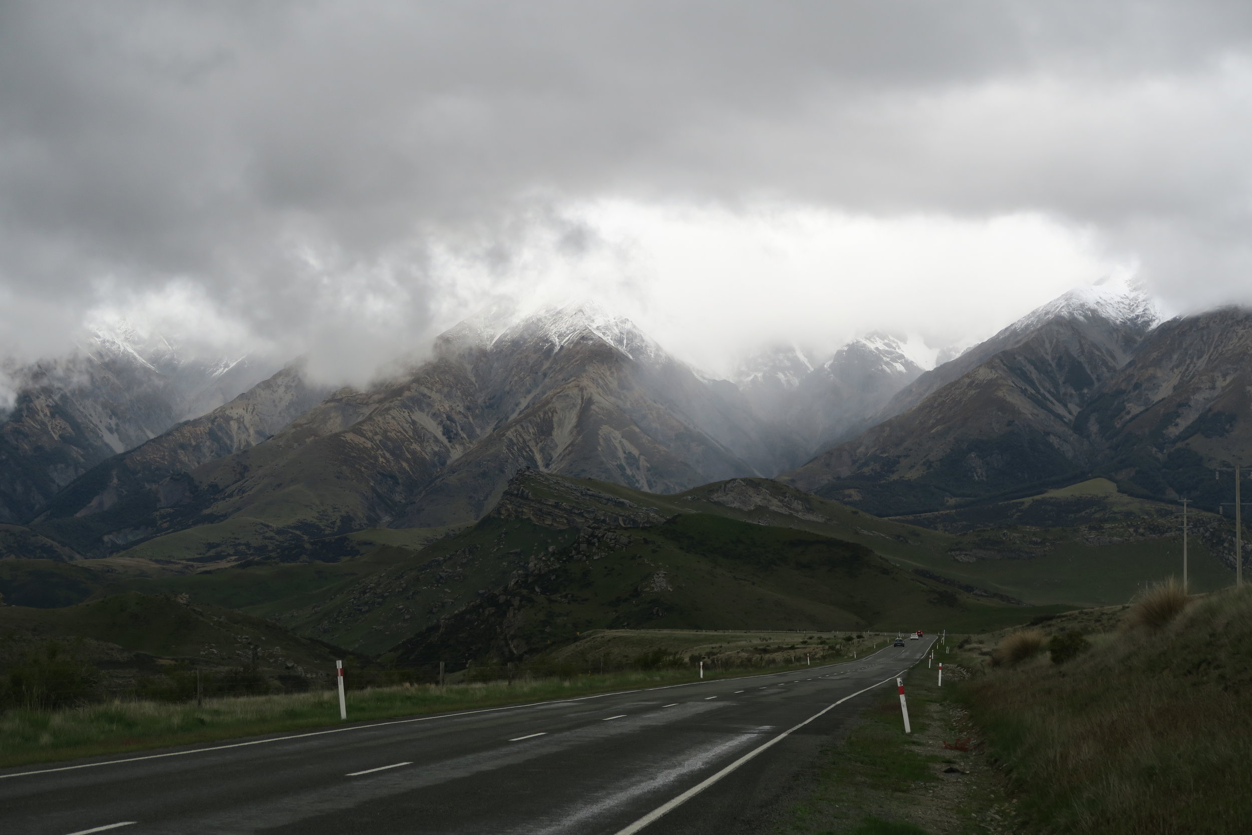 After the Earthquake, Southern Alps, 2016