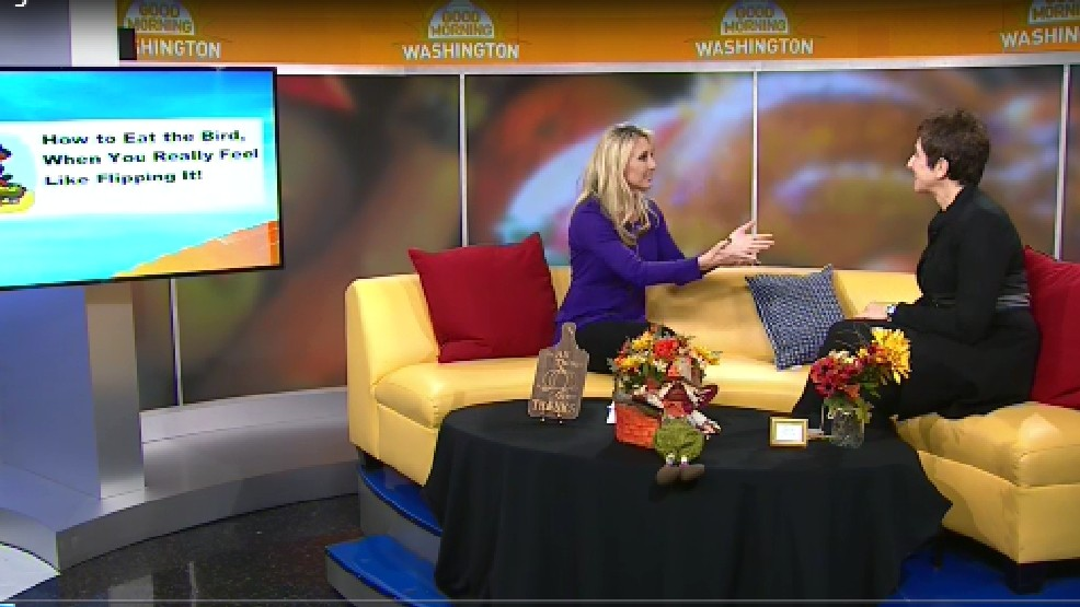 Is just the thought of Thanksgiving dinner with your family stressing you out? Life Coach Jen Coken has all the tips you need to make stress a memory!