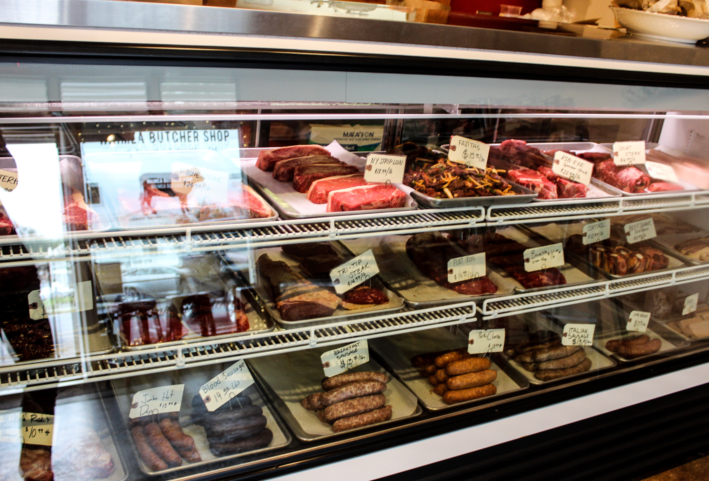 The Meat Case 100% Big Island Meats