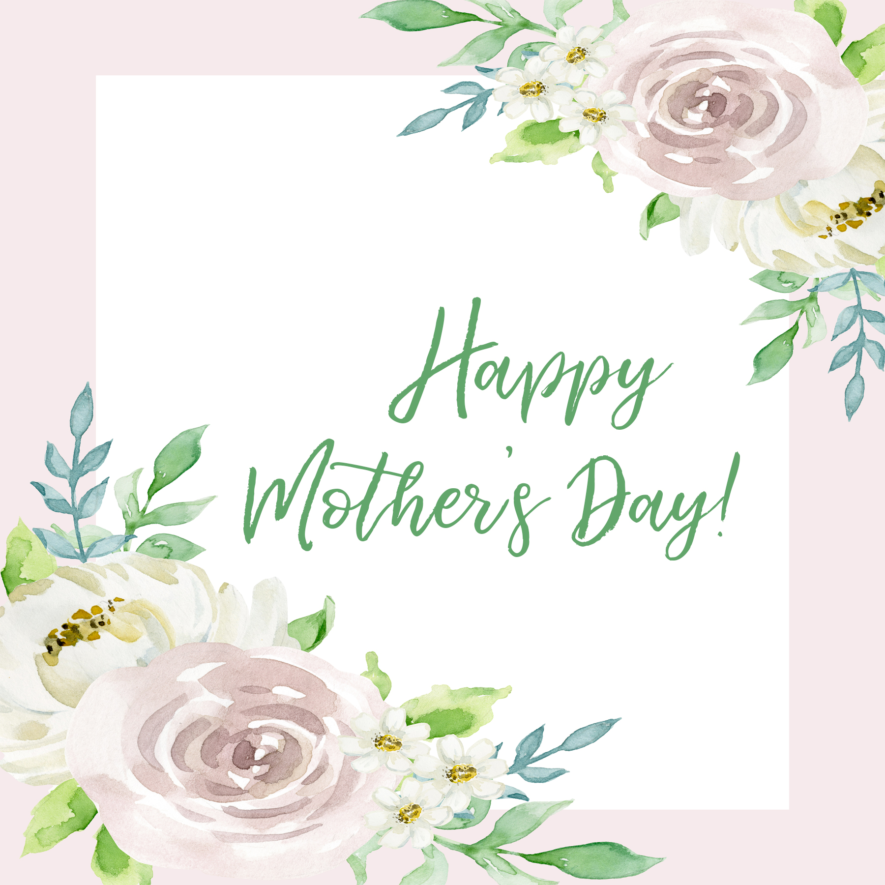 Give a gift in honor of the moms in your life and then download a beautifully designed printable to mail or give to show your love. -