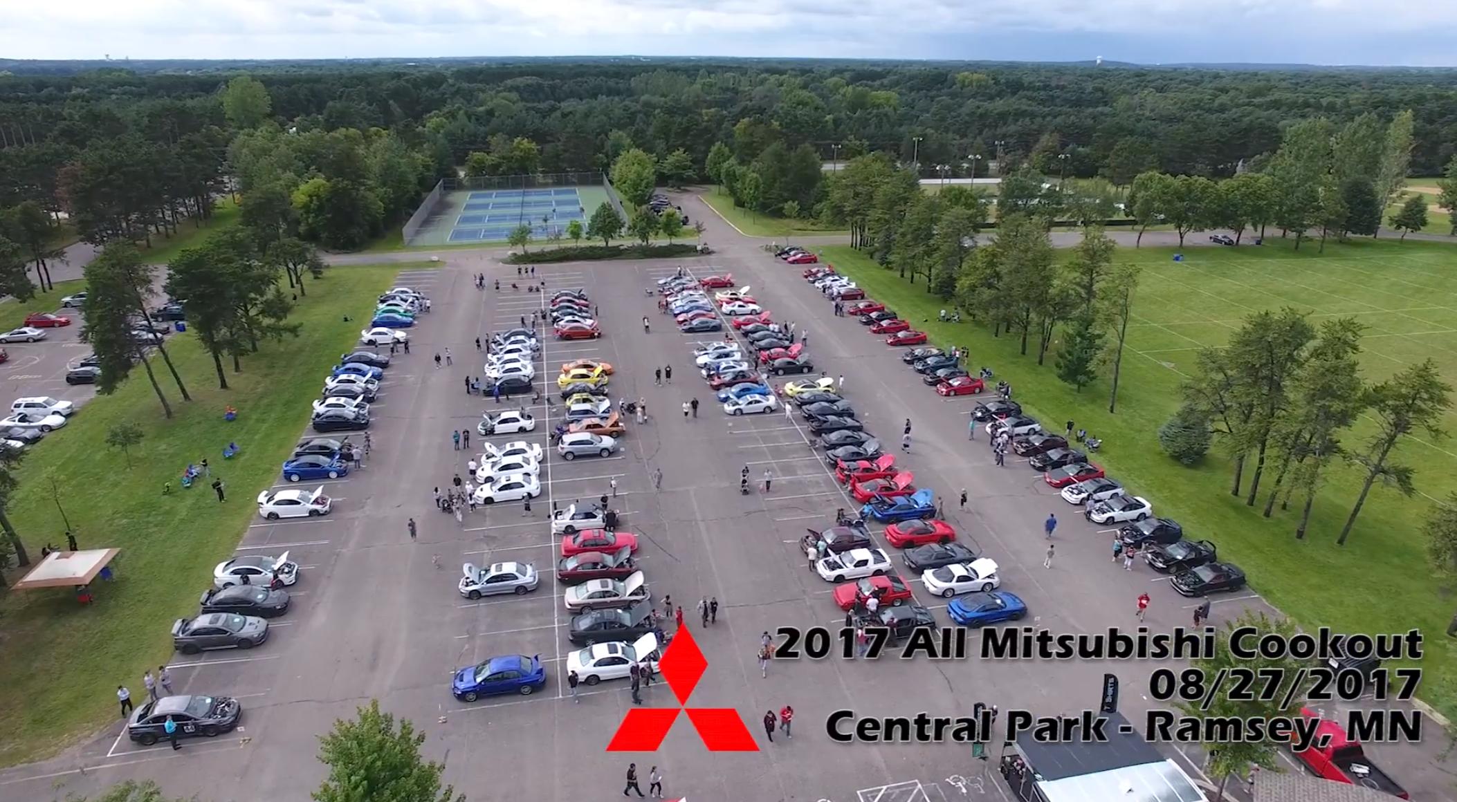 2017 Mitsubishi Cookout/Car Show