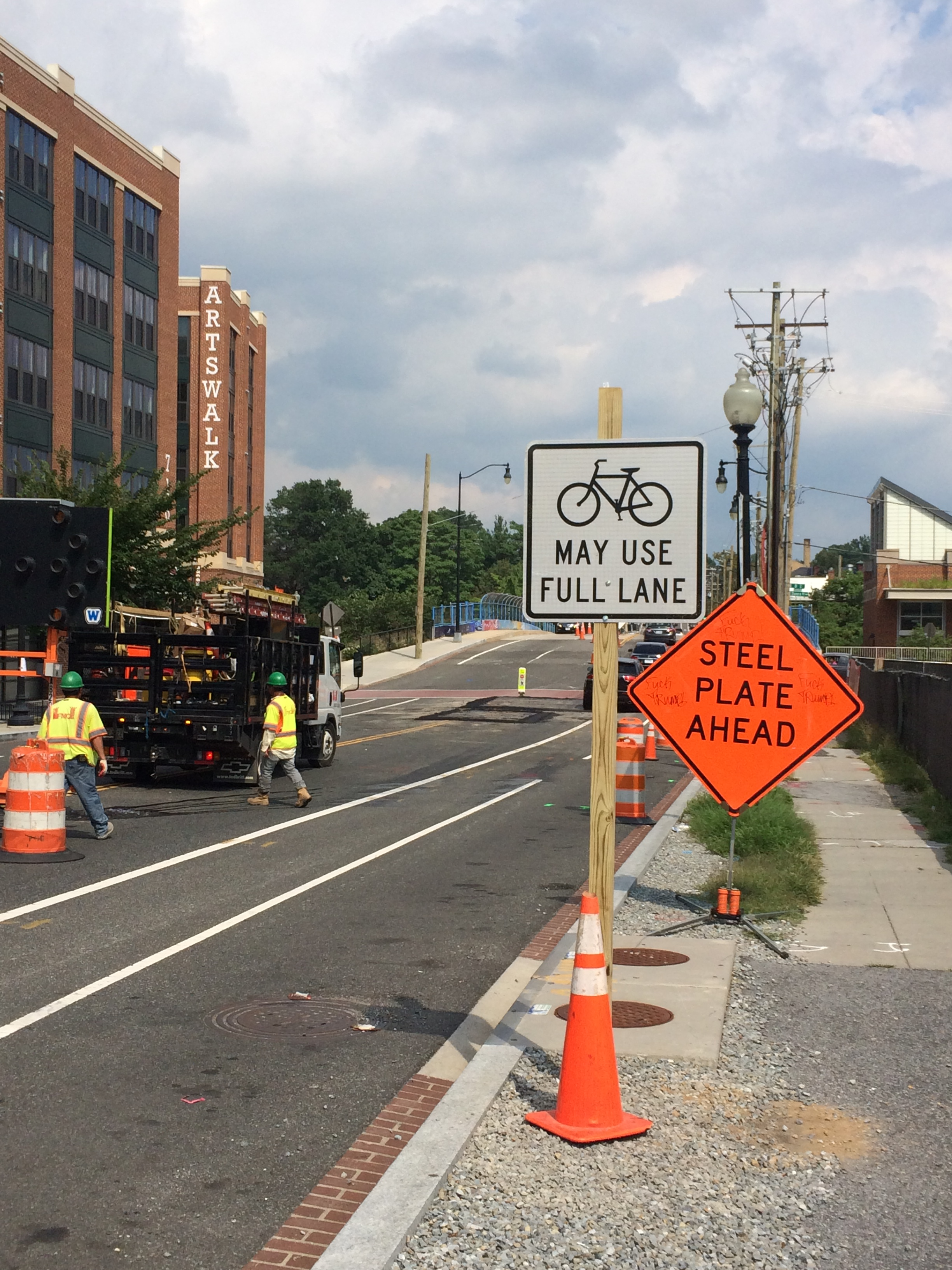 Bicycle Maintenance of traffic
