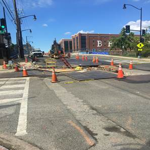 Copy of Trenching Work at West of 8th & Monroe